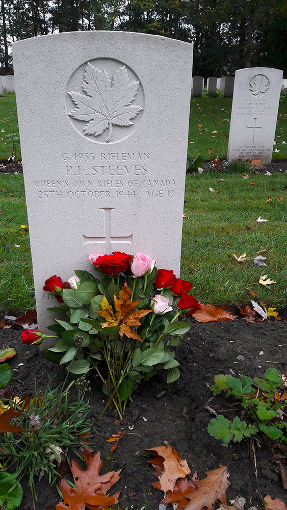 P.F. Steeves - Queen's Own Rifles of Canada