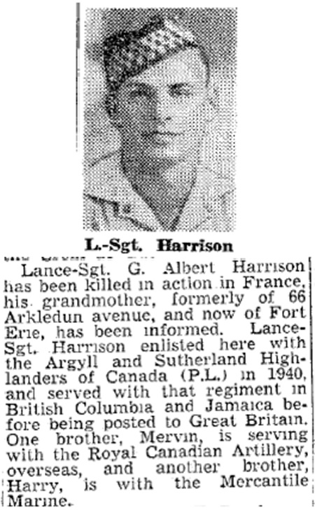 HARRISON, GEORGE ALBERT