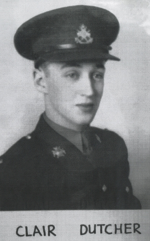 DUTCHER, THOMAS CLAIR - ALGONQUIN REGIMENT