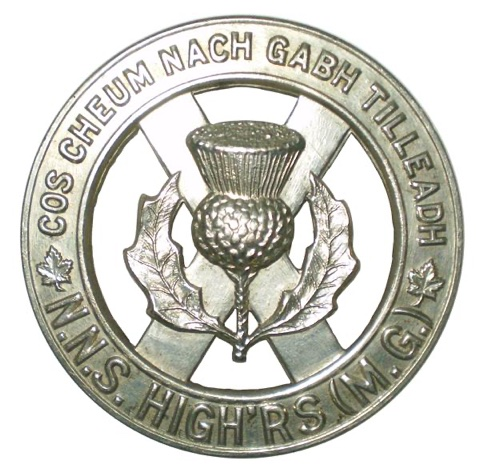 Capbadge North Nova Scotia Highlanders