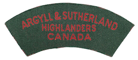 Argyll and Sutherland Highlanders of Canada (Pricess Louise)