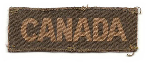 Canada shoulder title