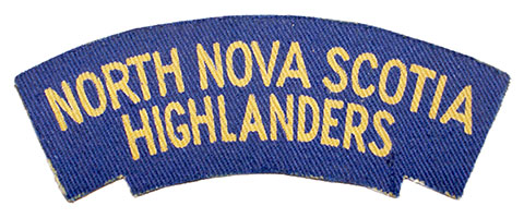 North Nova Scotia Highlanders, R.C.I.C.