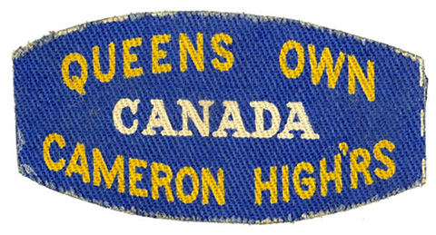 Queen's Own Cameron Highlanders Canada