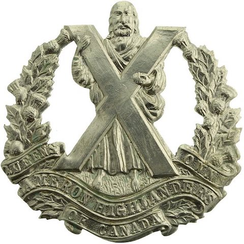 Queen's Own Cameron Highlanders of Canada capbadge