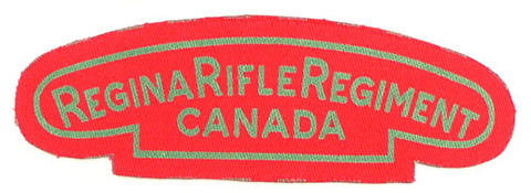 Regina Rifle Regiment, R.C.I.C.