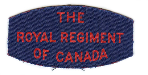 Royal Regiment of Canada, R.C.I.C.