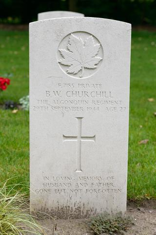 CHURCHILL, BRUCE WILBUR