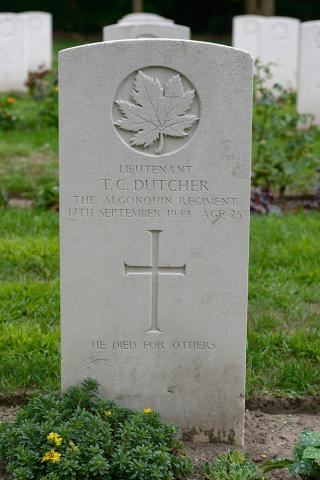 DUTCHER, THOMAS CLAIR