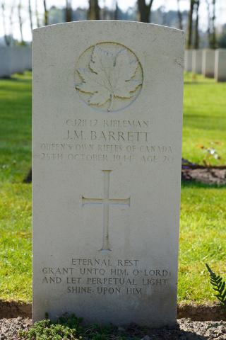 BARRETT, JAMES MORGAN