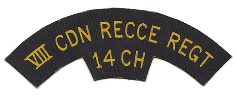 14th Canadian Hussars, R.C.A.C.