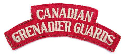Canadian Grenadier Guards, R.C.A.C.