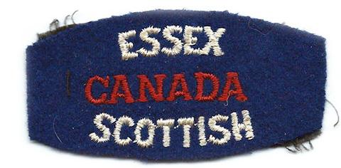 Essex Scottish Regiment, R.C.I.C.