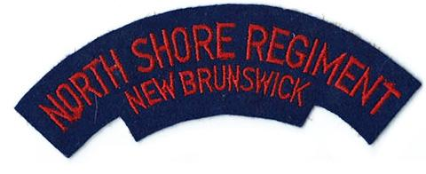 North Shore (New Brunswick) Regiment, R.C.I.C.