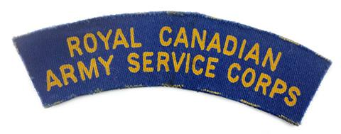 Royal Canadian Army Service Corps
