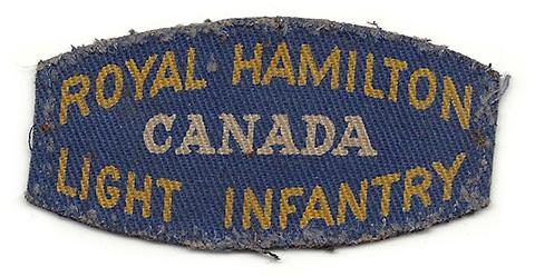 Royal Hamilton Light Infantry, R.C.I.C.