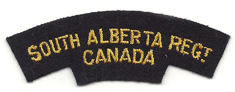 South Alberta Regiment, R.C.A.C.